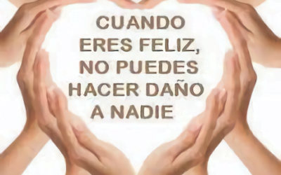 ¡No has venido a esta vida a ser perfecto, ha venido a ser feliz!