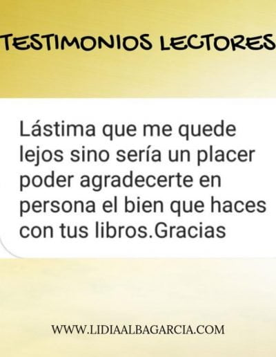 Testimonio 020 - Lidia Alba García