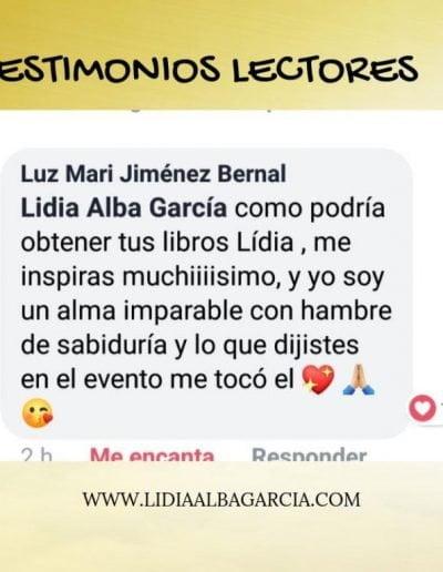 Testimonio 024 - Lidia Alba García