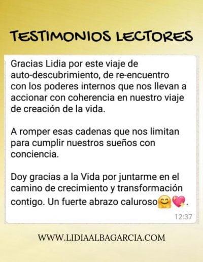 Testimonio 036 - Lidia Alba García