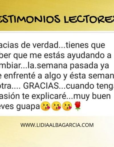 Testimonio 050 - Lidia Alba García
